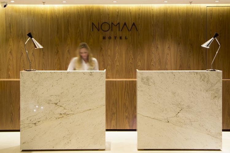Reception - Nomaa Hotel - Curitiba