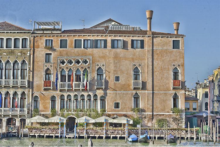 Facade - Ca' Sagredo Hotel - Venedig