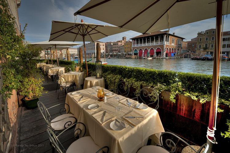 Exterior Dining Room - Ca' Sagredo Hotel - Venedig
