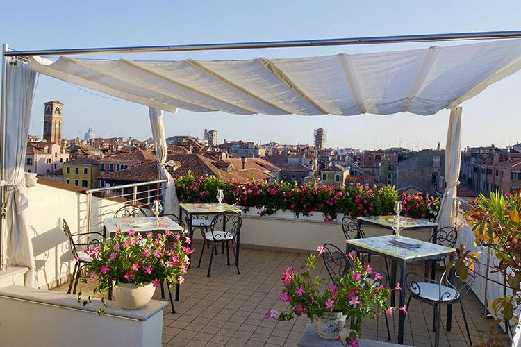 Terrace - Ca' Sagredo Hotel - Venedig