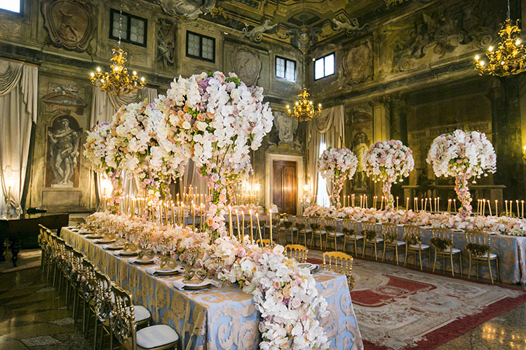 Event Dining Room - Ca' Sagredo Hotel - Venedig