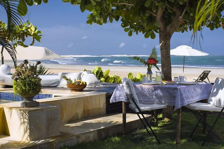 Exterior Dining Room - Casa de Areia - Jericoacoara