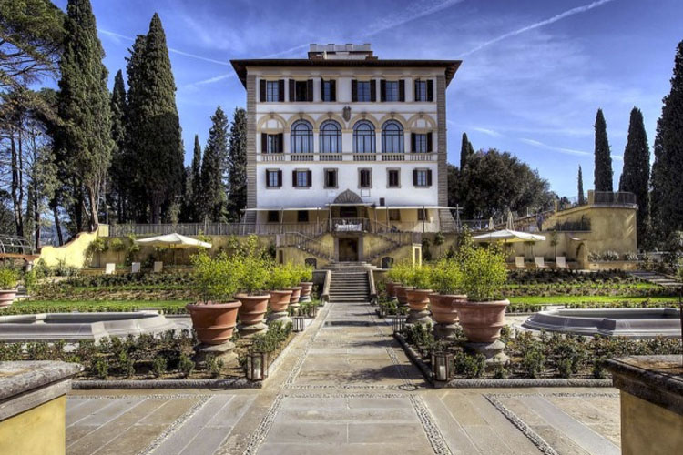Il salviatino a boutique hotel in florence for Hotel design florence