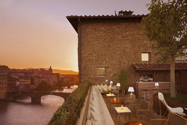 Terrace - Continentale - Florenz
