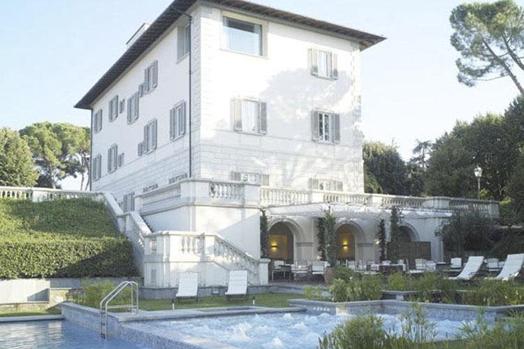 Facade - Villa La Vedetta - Florenz