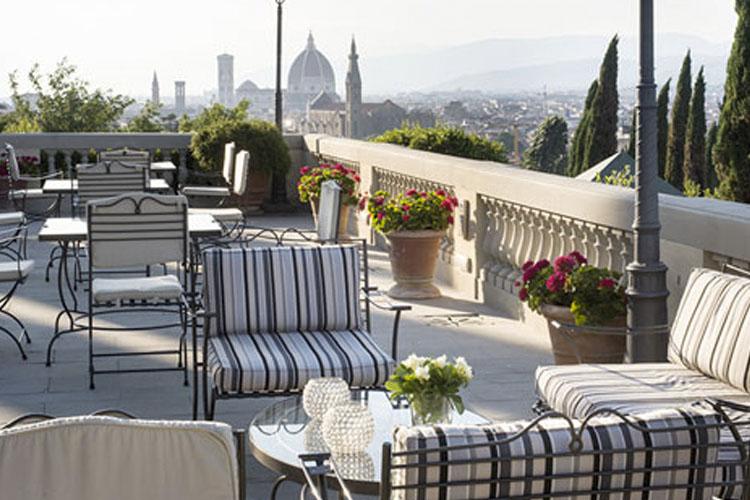 Terrace - Villa La Vedetta - Florenz