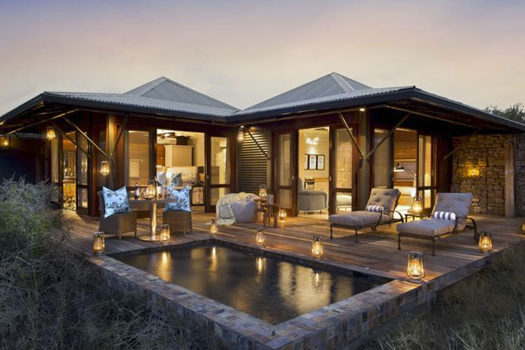 Facade and Pool - Kwandwe Private Game Reserve - Grahamstown
