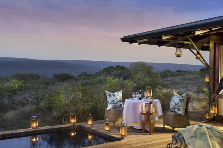 Terrace - Kwandwe Private Game Reserve - Grahamstown