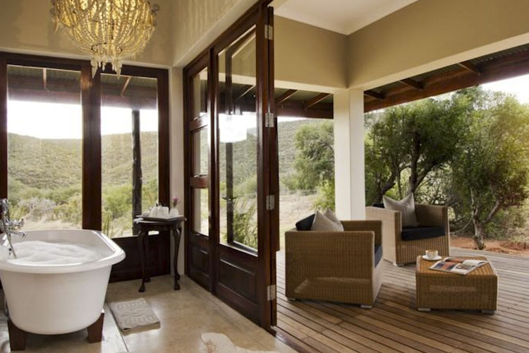 Double Room - Kwandwe Private Game Reserve - Grahamstown