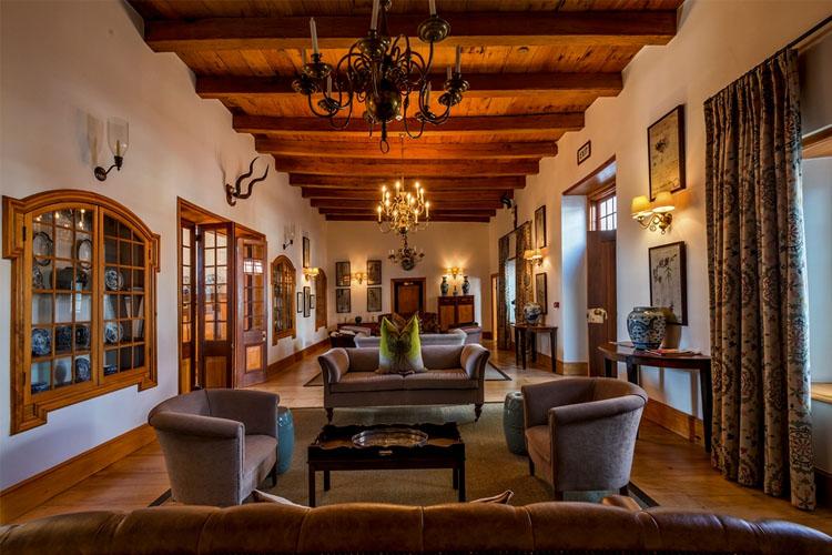 Lounge - Drostdy Hotel - Graaff-Reinet