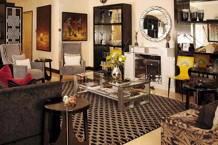 Living Room - No 5 Boutique Art Hotel - Port Elizabeth