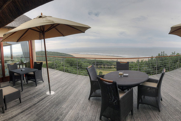 Exterior Dining Room - Oceana Beach and Wildlife Reserve - Port Alfred
