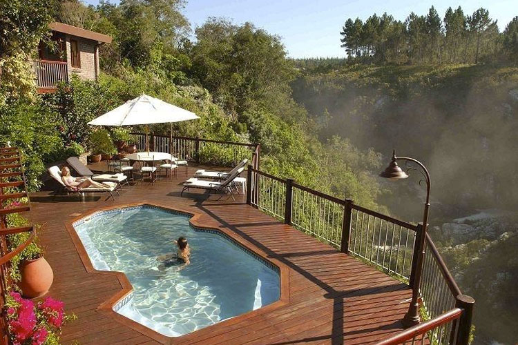 Pool - The Fernery Lodge & Chalets - Storms River