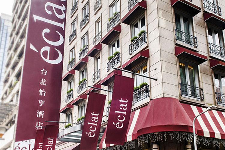 Facade - Hotel Éclat Taipei - Taipeh