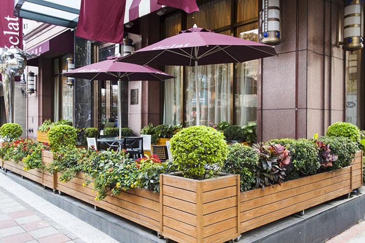 Terrace - Hotel Éclat Taipei - Taipeh
