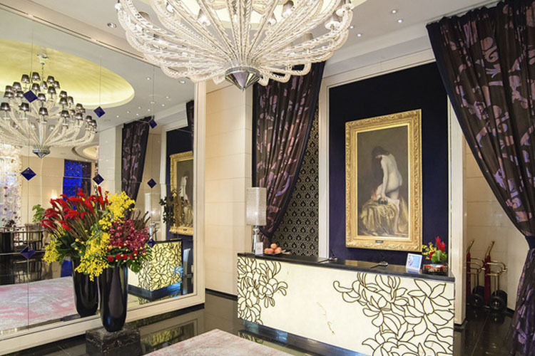 Reception - Hotel Éclat Taipei - Taipeh