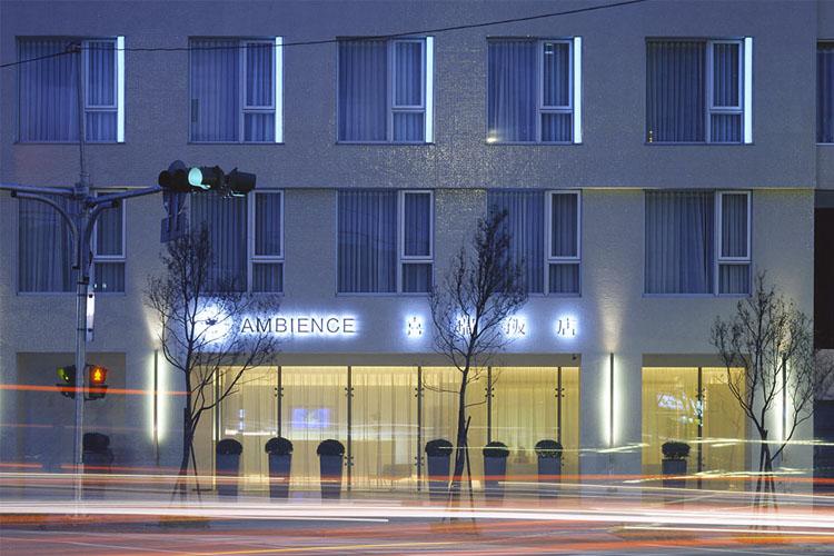 Facade - Ambience Hotel - Taipeh