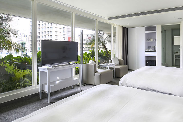 Family Room with Garden View - Ambience Hotel - Taipeh