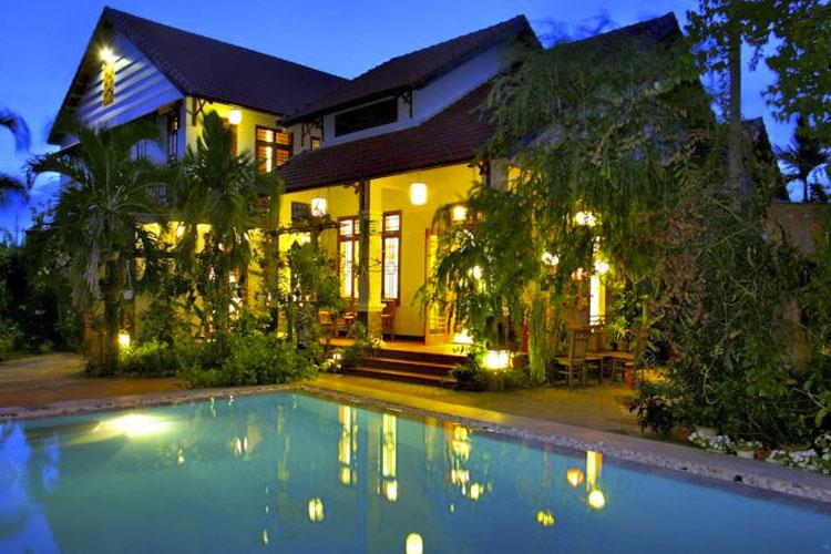 Facade and Pool - The Orchid Garden Villas - Hoi An