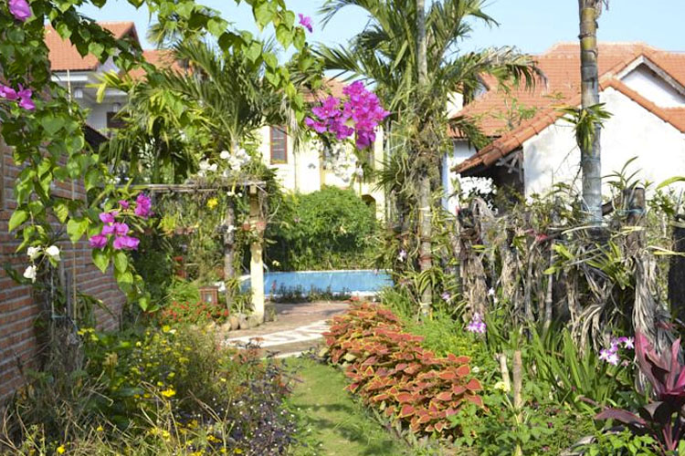 Garden - The Orchid Garden Villas - Hoi An