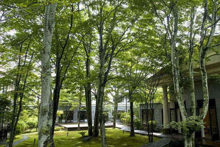 Garden - Kyu Karuizawa Hotel - Nagano