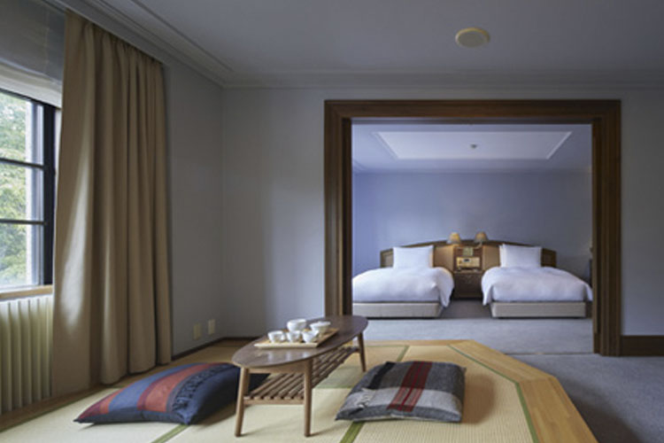 Japanese-Western Room - Kyu Karuizawa Hotel - Nagano