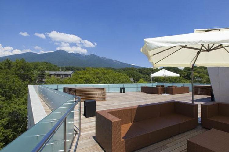 Terrace - Hotel Keyforest Hokuto - Yamanashi
