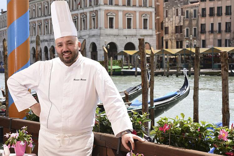 Chef Damiano Bassano - Ca' Sagredo Hotel - Venice