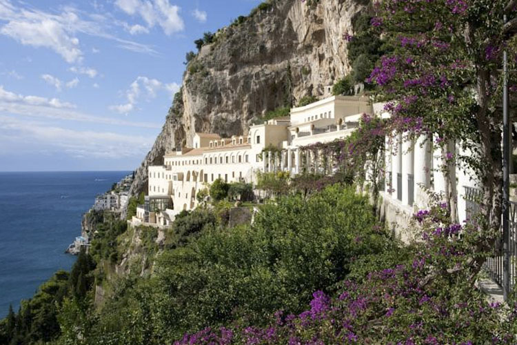 Facade - Grand Hotel Convento di Amalfi - Costa Amalfitana