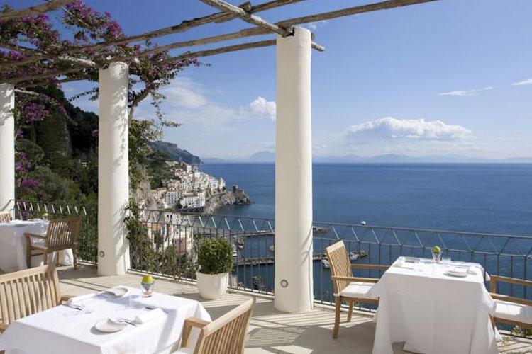 Exterior Dining Room - Grand Hotel Convento di Amalfi - Amalfiküste