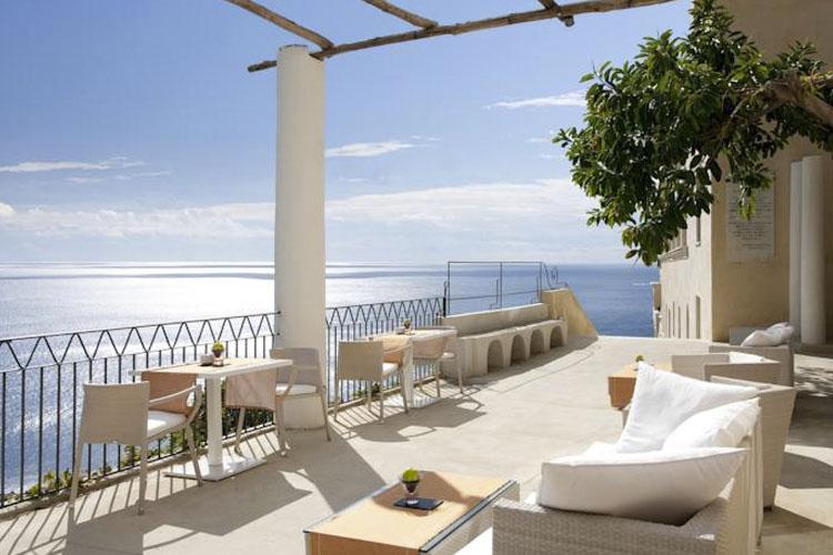 Exterior Dining Room - Grand Hotel Convento di Amalfi - Costa Amalfitana