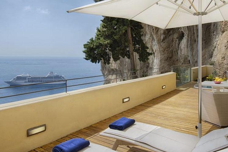 Terrace - Grand Hotel Convento di Amalfi - Amalfiküste