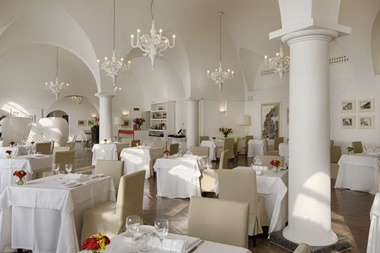 Dining Room - Grand Hotel Convento di Amalfi - Costa Amalfitana