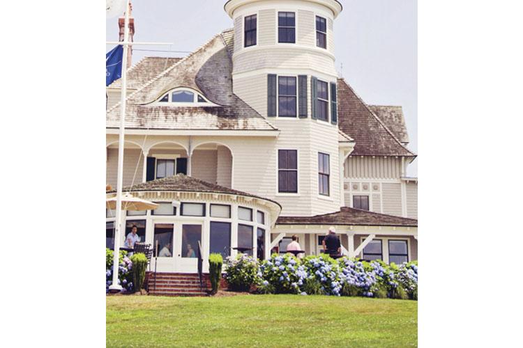 Facade - Castle Hill Inn - Newport