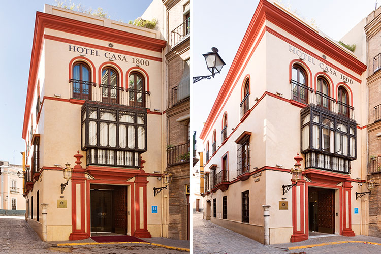 Hotel casa 1800 sevilla a boutique hotel in seville for Small great hotels