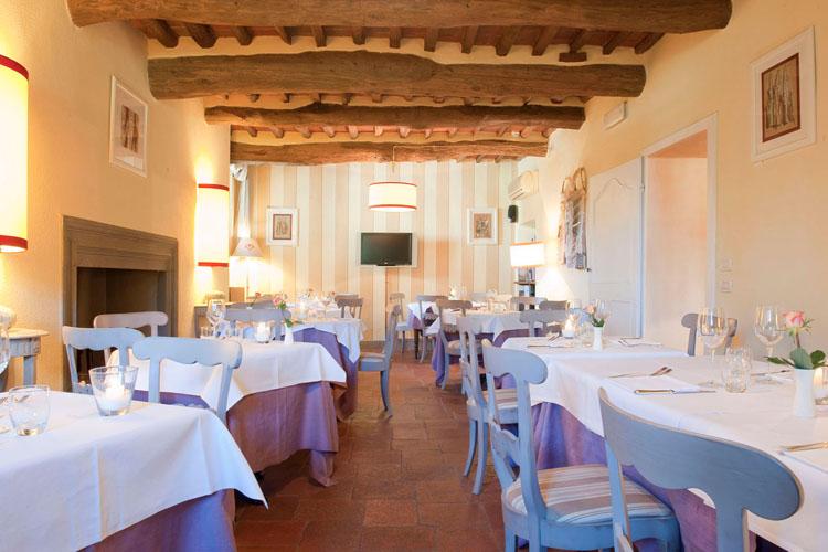 Restaurant - Albergo Villa Marta - San Lorenzo a Vaccoli