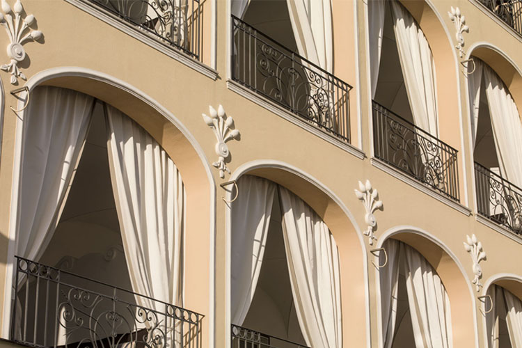 Facade - Capri Tiberio Palace - Capri, Ischia und Procida