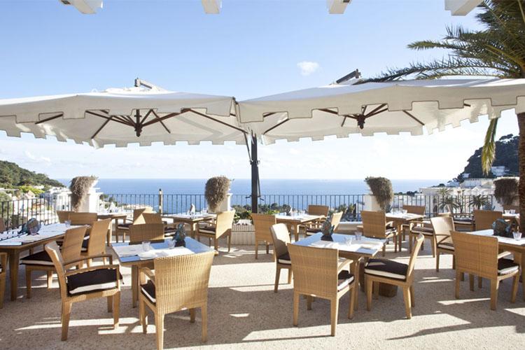 Exterior Dining Room - Capri Tiberio Palace - Capri, Ischia und Procida