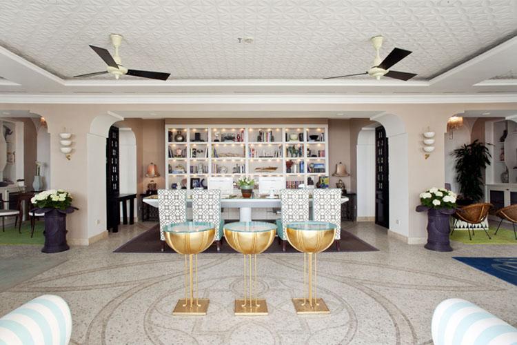 Reception - Capri Tiberio Palace - Capri, Ischia und Procida