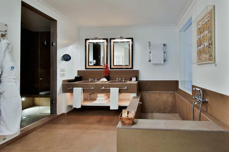 Bathroom - Capri Tiberio Palace - Capri, Ischia und Procida