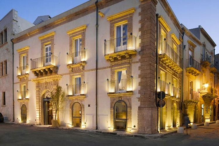 Facade - Algilà Ortigia Charme Hotel - Syrakus