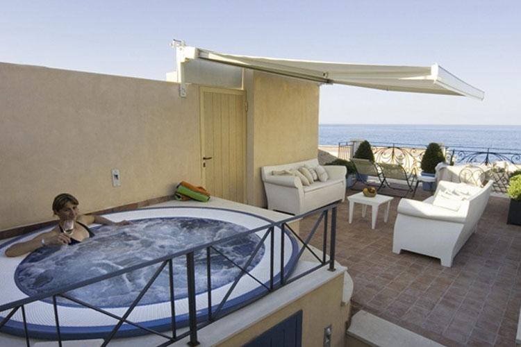 Terrace - Algilà Ortigia Charme Hotel - Syrakus