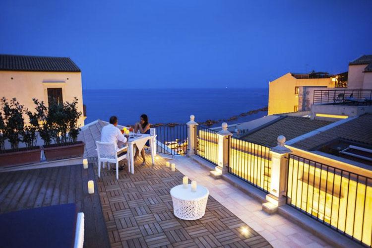 Algil ortigia charme hotel ein boutiquehotel in syrakus for Design hotel sizilien