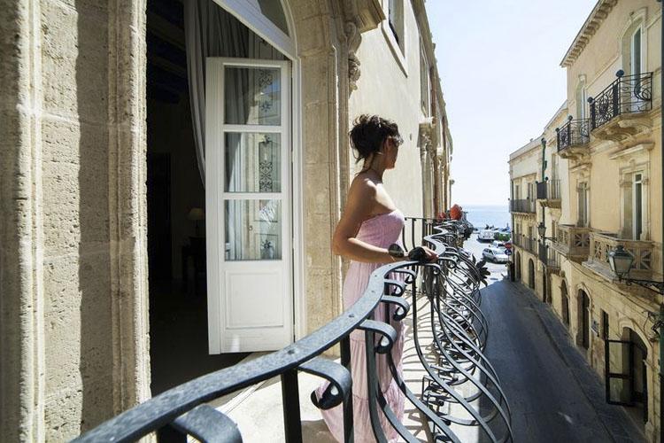 Balcony - Algilà Ortigia Charme Hotel - Syrakus