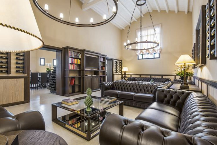 Lounge - Baglio Sorìa Resort & Wine Experience - Trapani