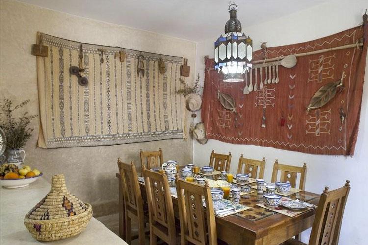 Dining Room - Dar Kamalchaoui - Fès