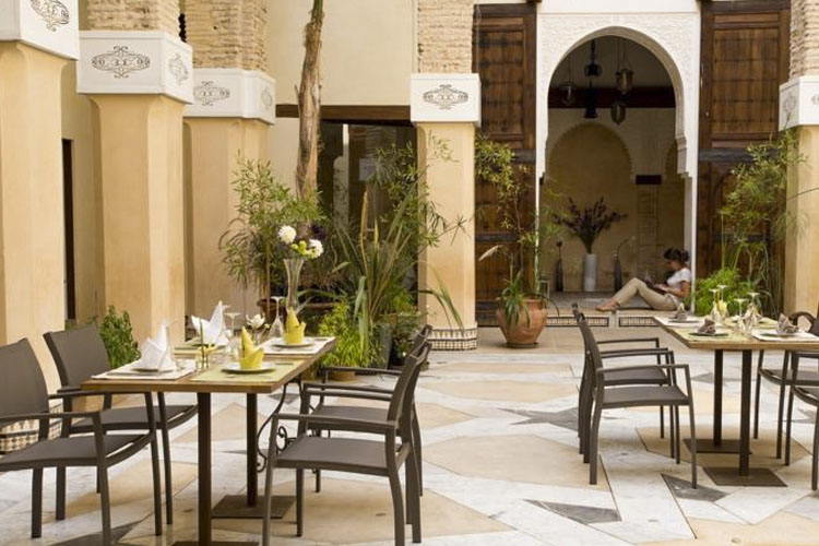 Exterior Dining Room - Karawan Riad - Fez