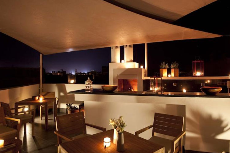 Exterior Dining Room - Riad dar Maya - Essaouira