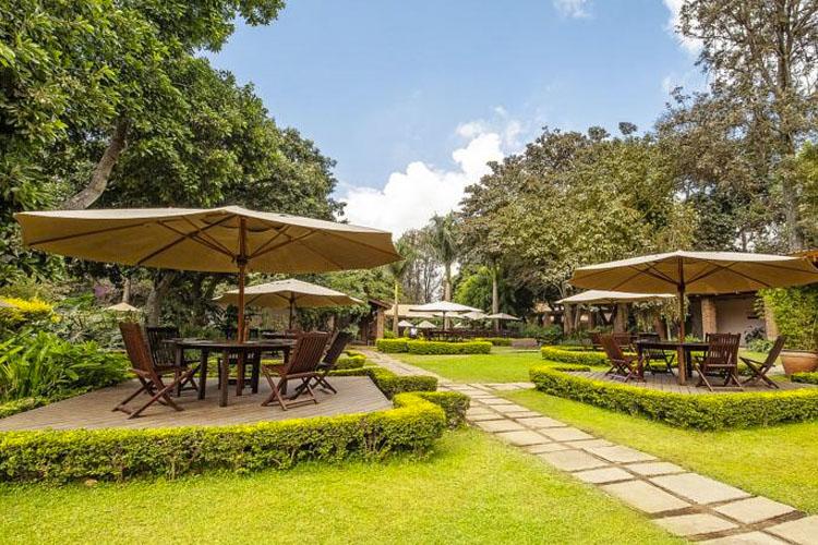 Exterior Dining Room - Arusha Coffee Lodge - Arusha