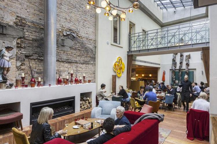 Dining room - Hotel DeBrett - Auckland